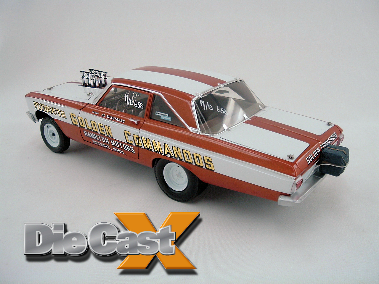 End of the Line: Supercar Collectibles' 1:18 AWB Plymouth Final Four