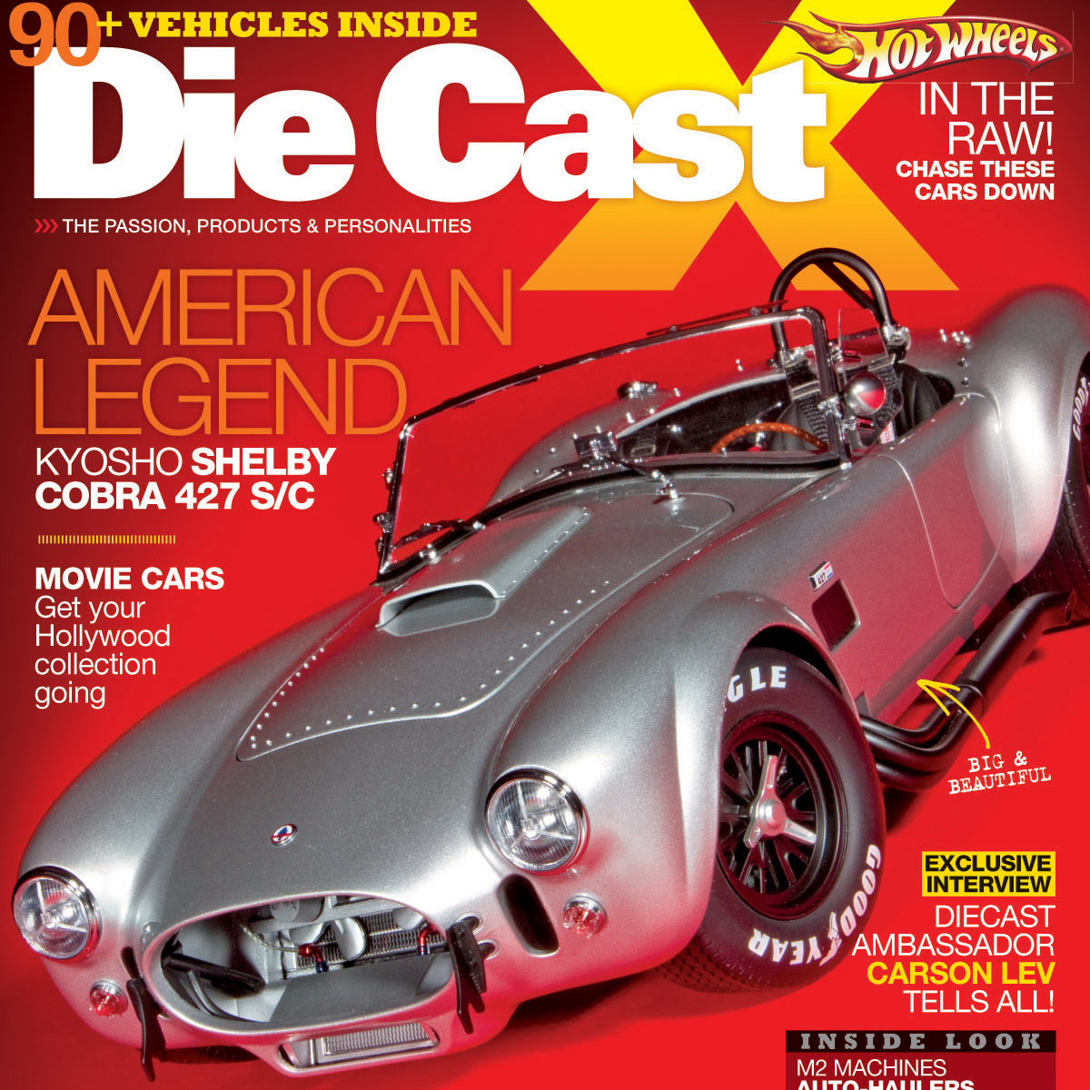Die Cast X Magazine Winter 2012 Issue on sale now!  Check out some photos from the issue…