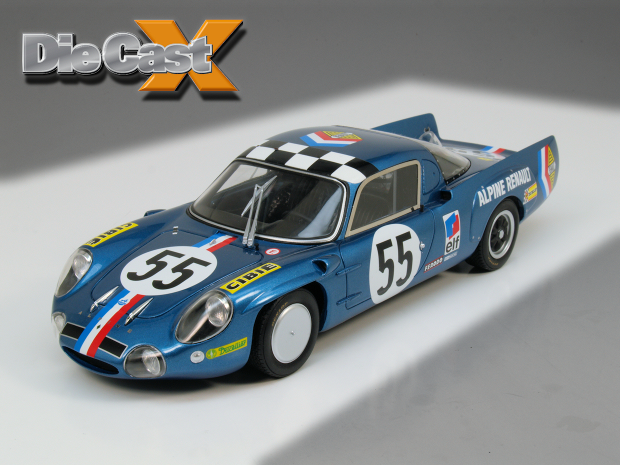 Ottomobile 1:18 Alpine A210: Resin Rocks