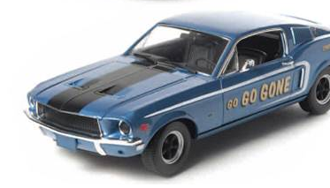 Greenlight Announces Two New 1968 Ford Mustang Fastback Decos