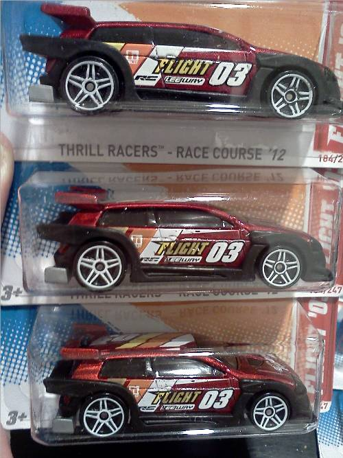 "Variation Alert!: 2012 Hot Wheels ""Flight `03"""