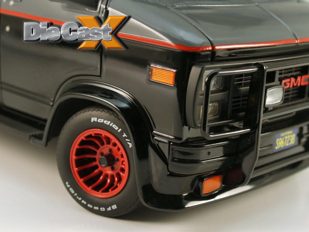 """FIRST LOOK! Hot Wheels Elite 1:18 """"A-Team"""" Van"""