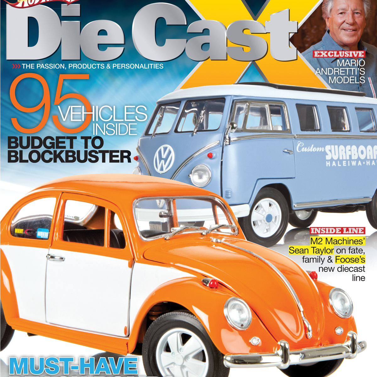 Die Cast X Spring 2012 issue on sale now.  Check out some pics from the magazine!