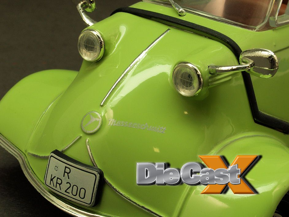 "Look Back 1:18: Revell Germany's Messerschmitt KR200 ""Kabinenroller"""