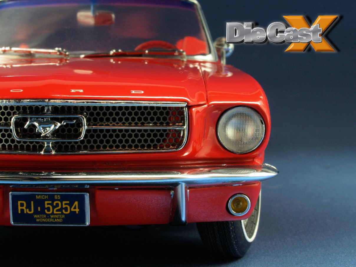 Look Back 1:18: Precision 100 Ford Mustang Convertible