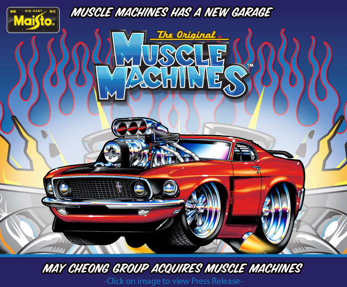 They're Back……Muscle Machines Are Back………..