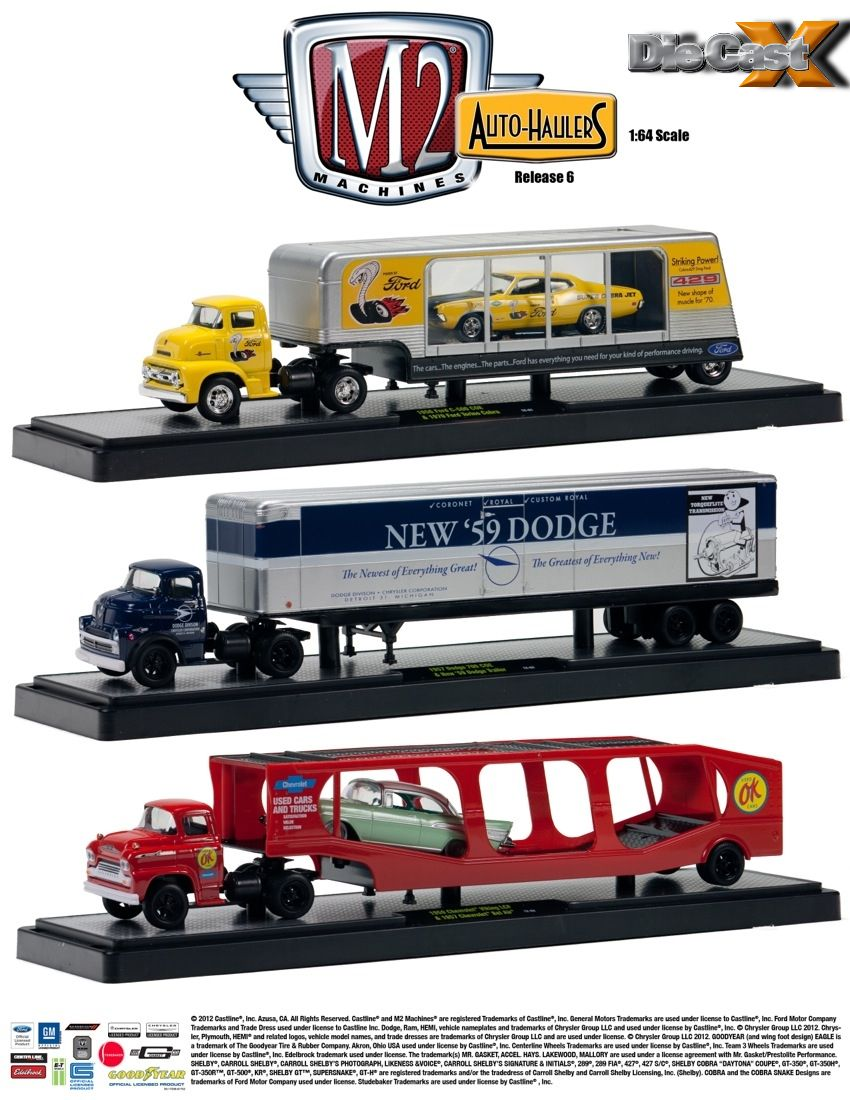 It Must be Love: Auto-Haulers Rolls New Releases in 1:64