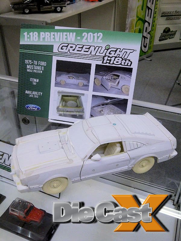 NUREMBERG NEWS! Greenlight Mustang II / MIB3 Movie Car is a Galaxie 500 / New BBR tooling….