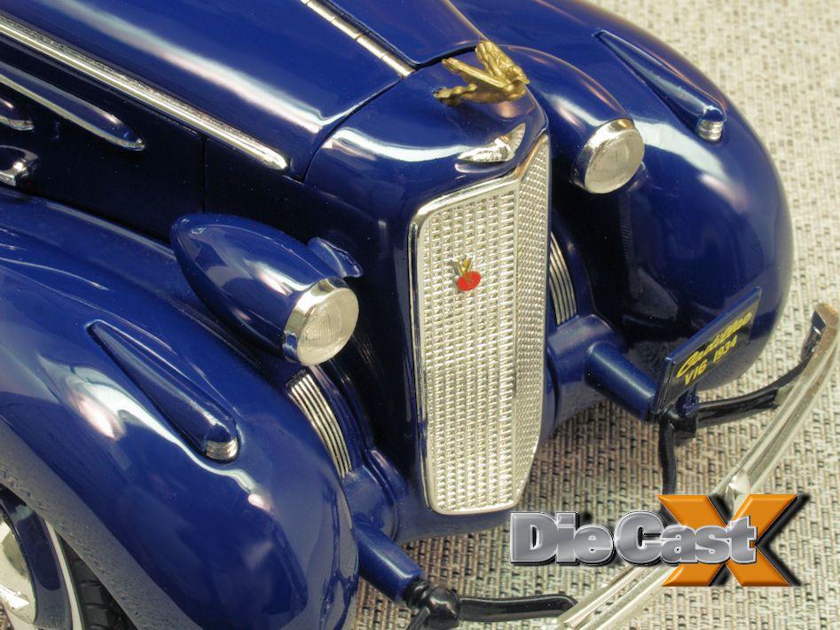 """Look Back 1:18: Ricko Cadillac V16 """"Aero-Dynamic Coupe"""""""