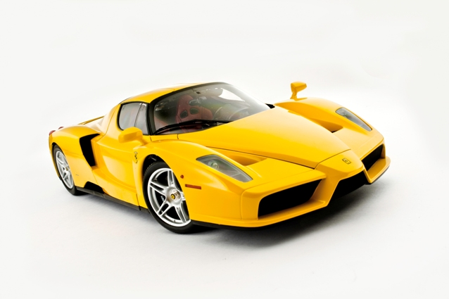 Kyosho 1:12 Enzo Dressed In Yellow