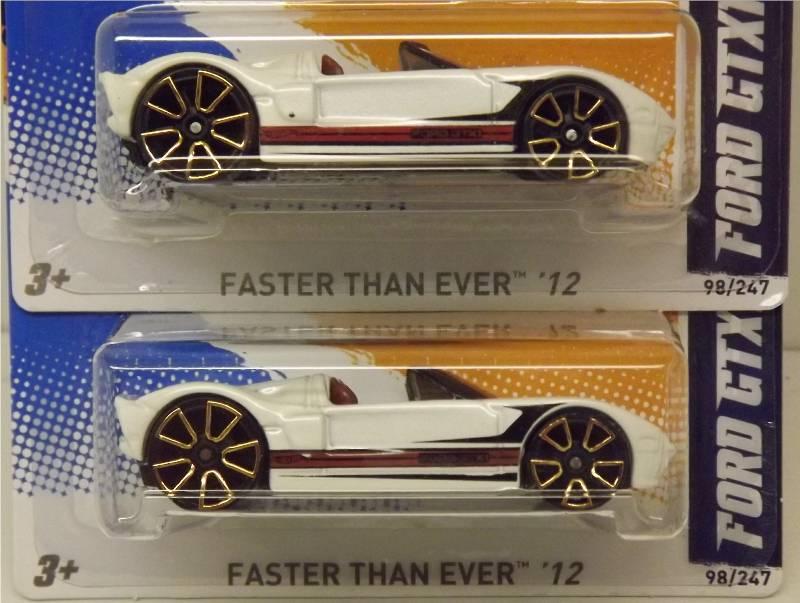 2012 Ford GTX1 Variations