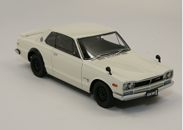 55 Years Strong AUTOart Nissan Skyline 2000GT-R