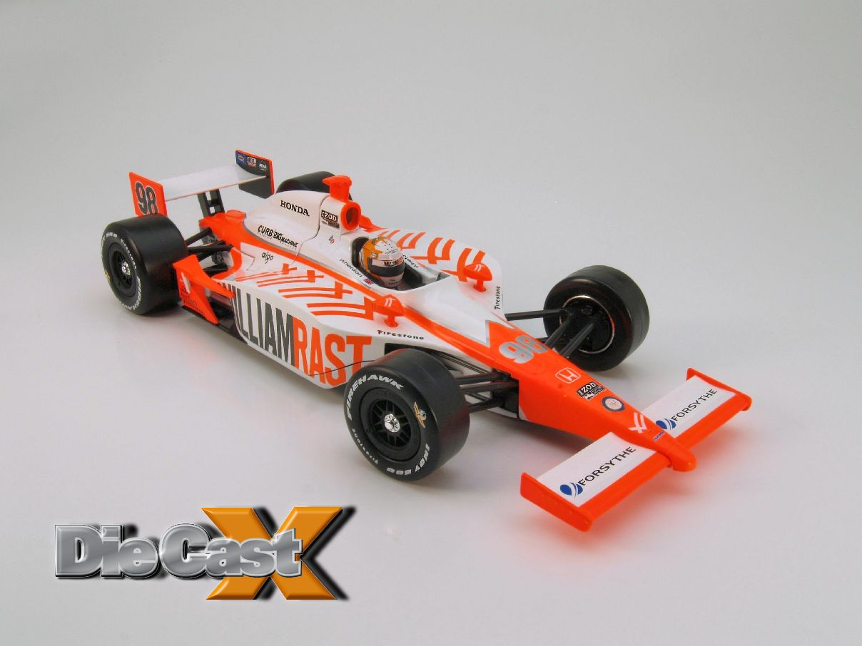 With Respect: Greenlight's 1:18 Dan Wheldon Tribute Car