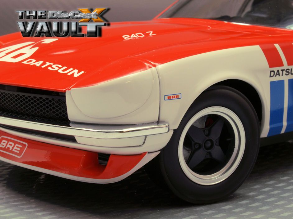 "FROM THE DCX VAULT: Brock to the Future: Kyosho's 1:18 ""Brock"" 240Z"
