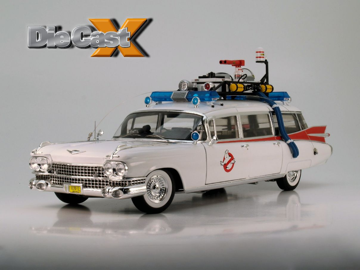 "VIDEO REVIEW: Get Your Ecto On: Hot Wheels Elite's 1:18 1959 Caddy ""Ghostbusters"" Car"
