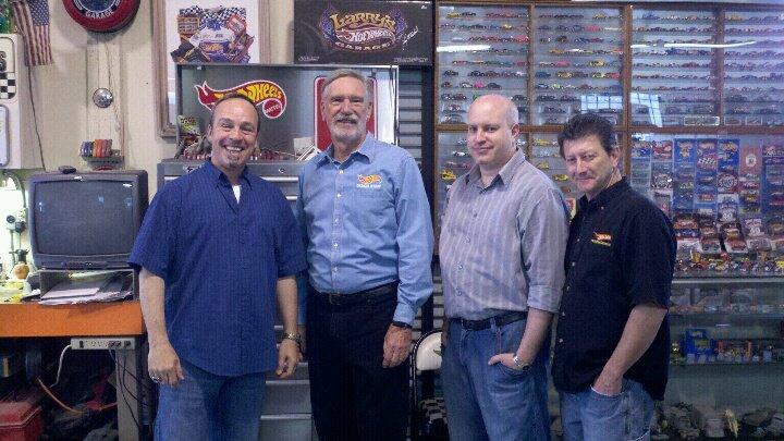 Elwoods Garage Visit!