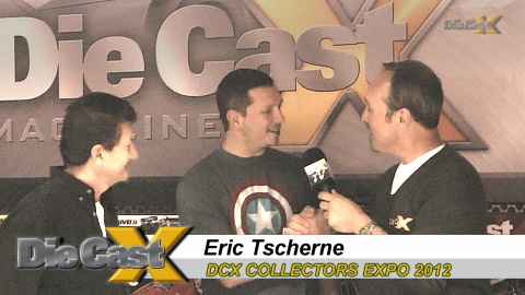 DCX Collectors Expo VIDEO: Eric Tscherne Talks Design, Diecast, and Chicken Scratch
