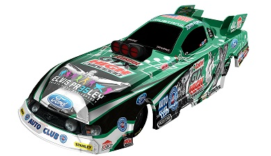 Force And Hight To Honor Elvis At Bristol With Special Funny Cars
