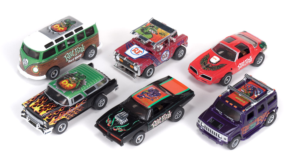 """Round 2 / Auto World Collaborates With Estate of Legendary Hot Rod Artist Ed """"Big Daddy"""" Roth"""