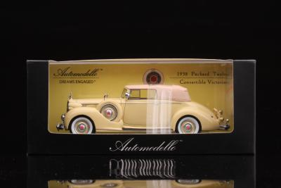 Automodello Packard Twelve Victoria 1938 Hand Sample On The Chopping Block at Scoomer.com