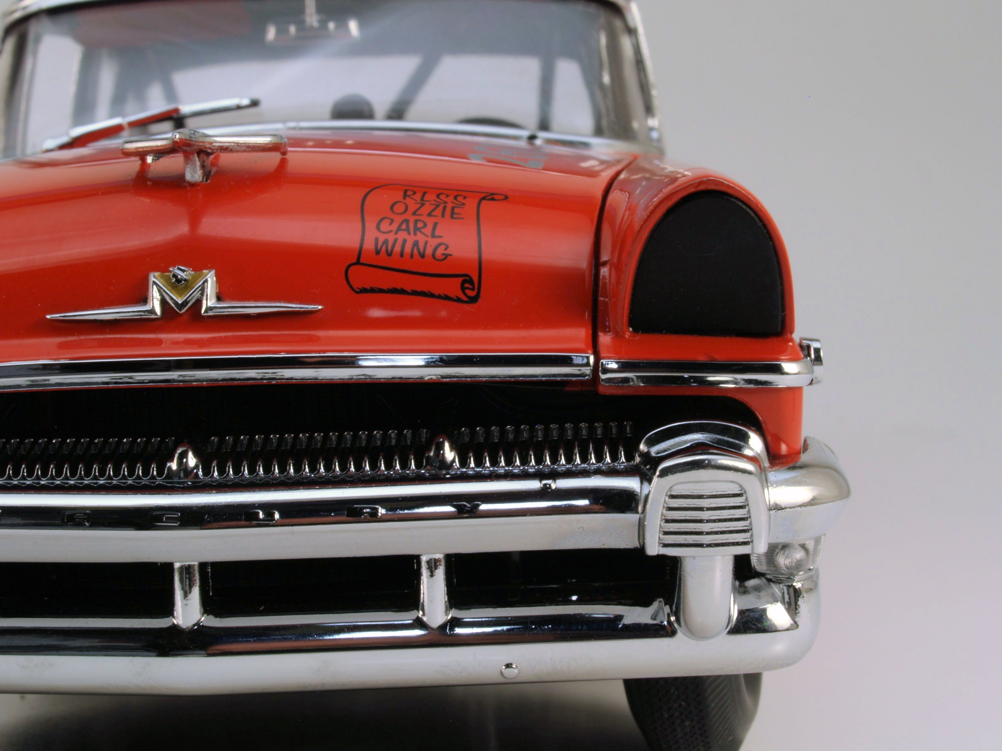 "SNEAK PEEK: Sunstar's 1:18 ""Russ Truelove"" 1956 Mercury Stock Car"