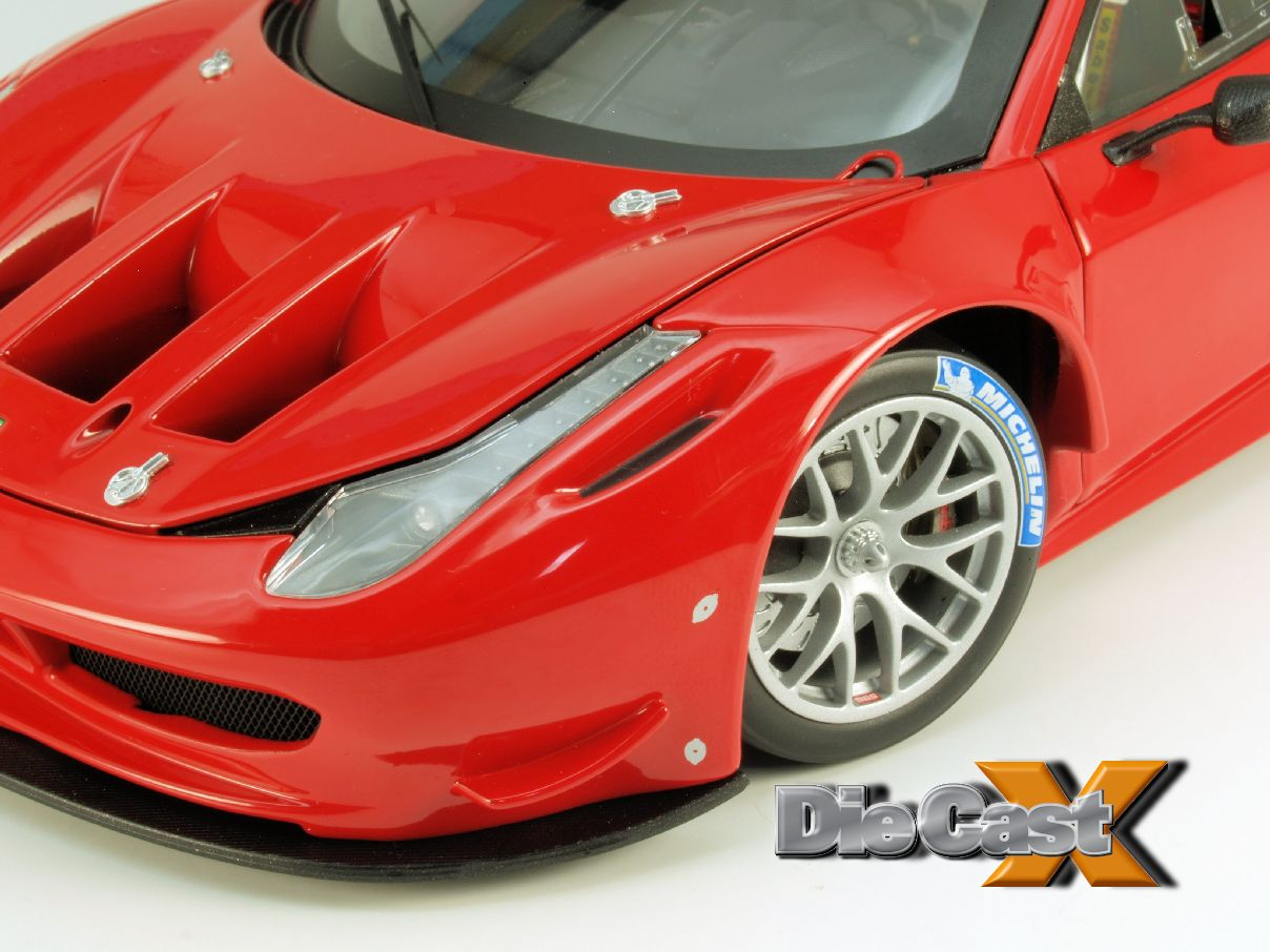"FIRST LOOK: Hot Wheels Elite 1:18 Ferrari 458 Italia GT2 ""Launch Version"""