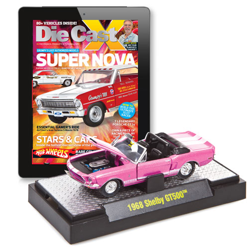 Die Cast X Digital Magazine With An Exclusive Twist Of M2 Machines