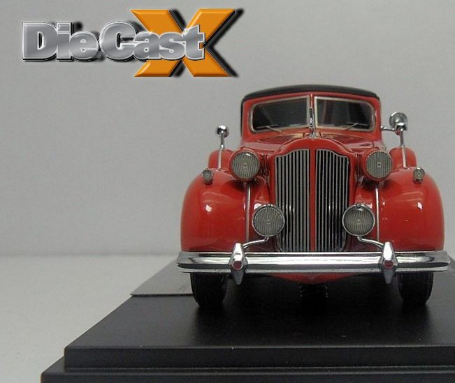 Hail, Victoria: Automodello Sees Red On Their '38 Packard Twelve