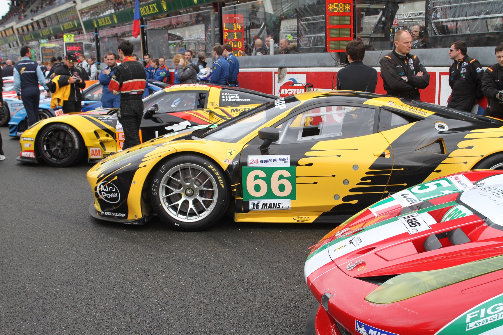 ferrari 458 italia gt2 le mans 2012 51 and 66 by bbr die cast x. Black Bedroom Furniture Sets. Home Design Ideas