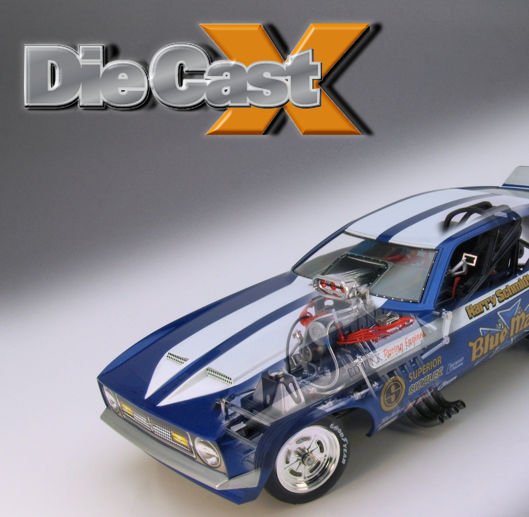 "DCX VIDEO! Auto World's ""Legends of the Quarter Mile"" ""Blue Max"" Funny Car"