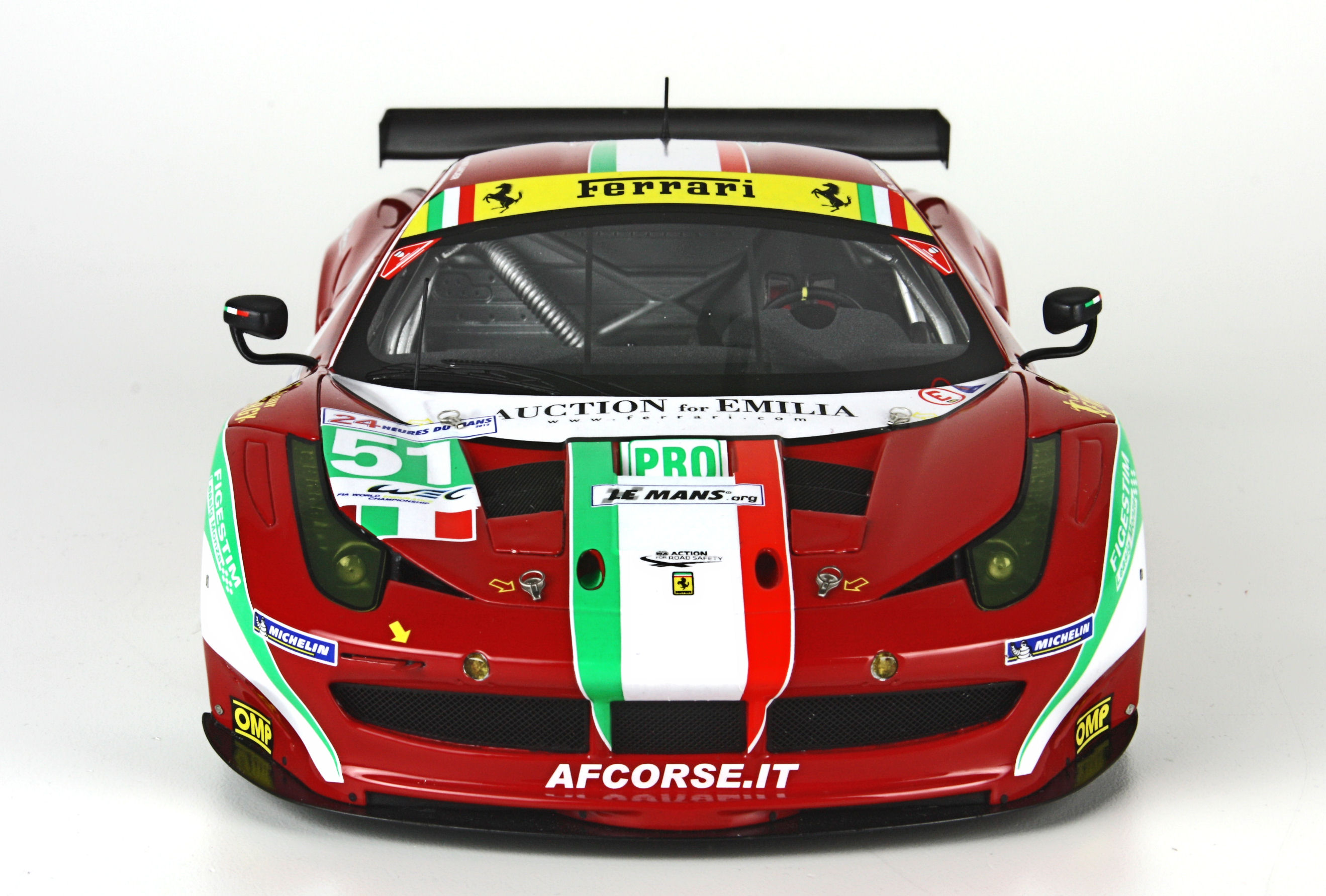 Ferrari 458 Italia GT2 – Le Mans 2012 – #51 and #66 by BBR