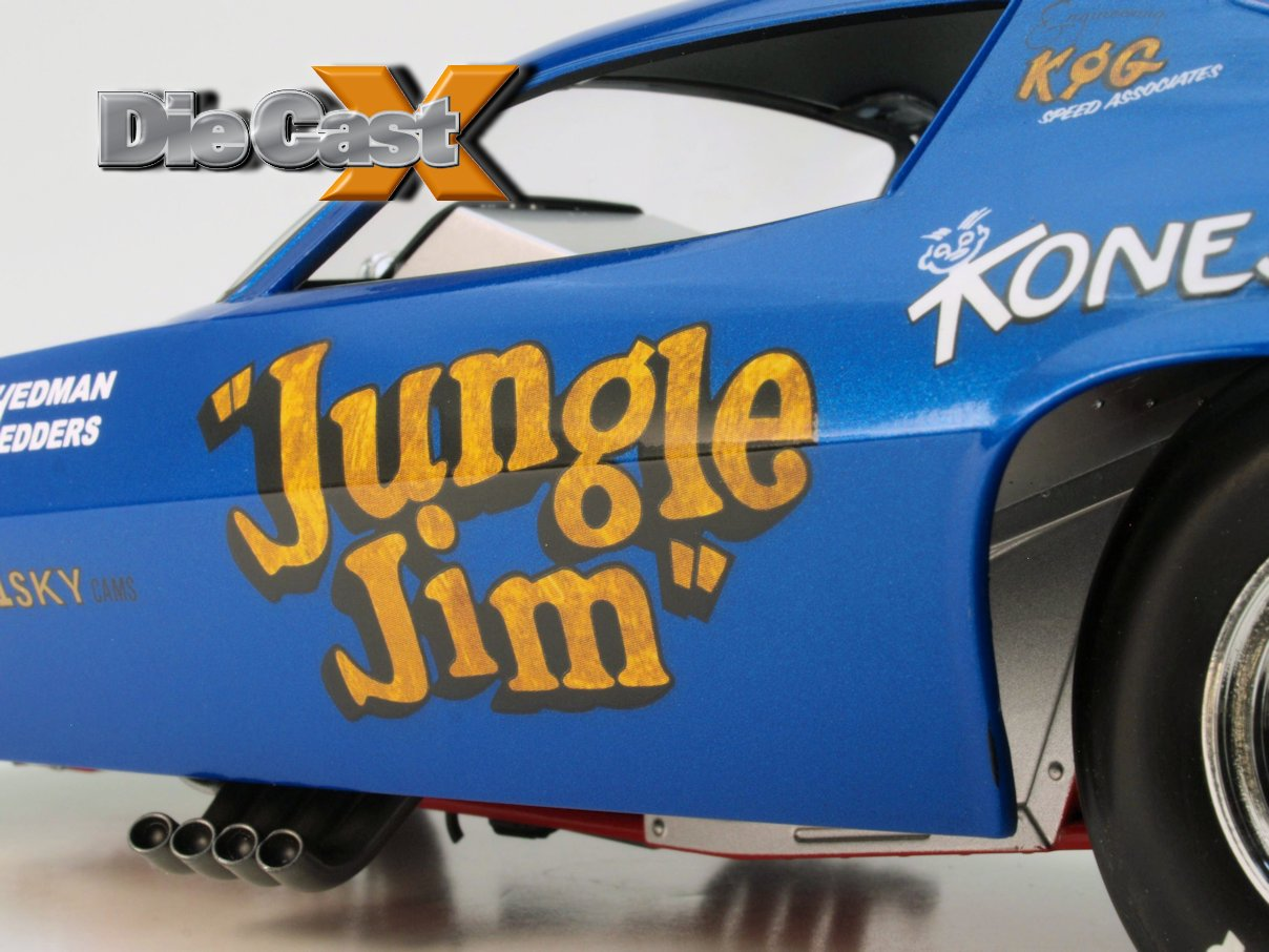 "Auto World 1:18 ""Jungle Jim"": Run Through the Jungle"