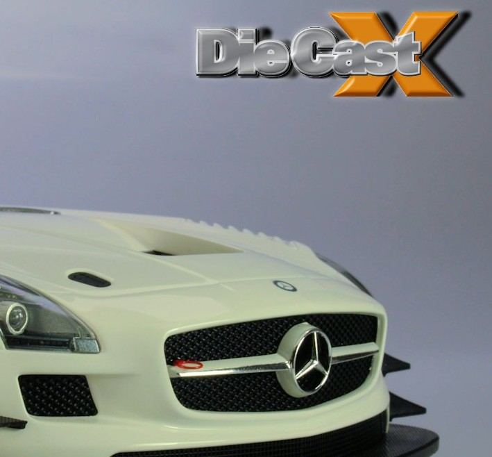 NEW VIDEO! Minichamps 1:18 Mercedes SLS AMG GT3 – in ABS!