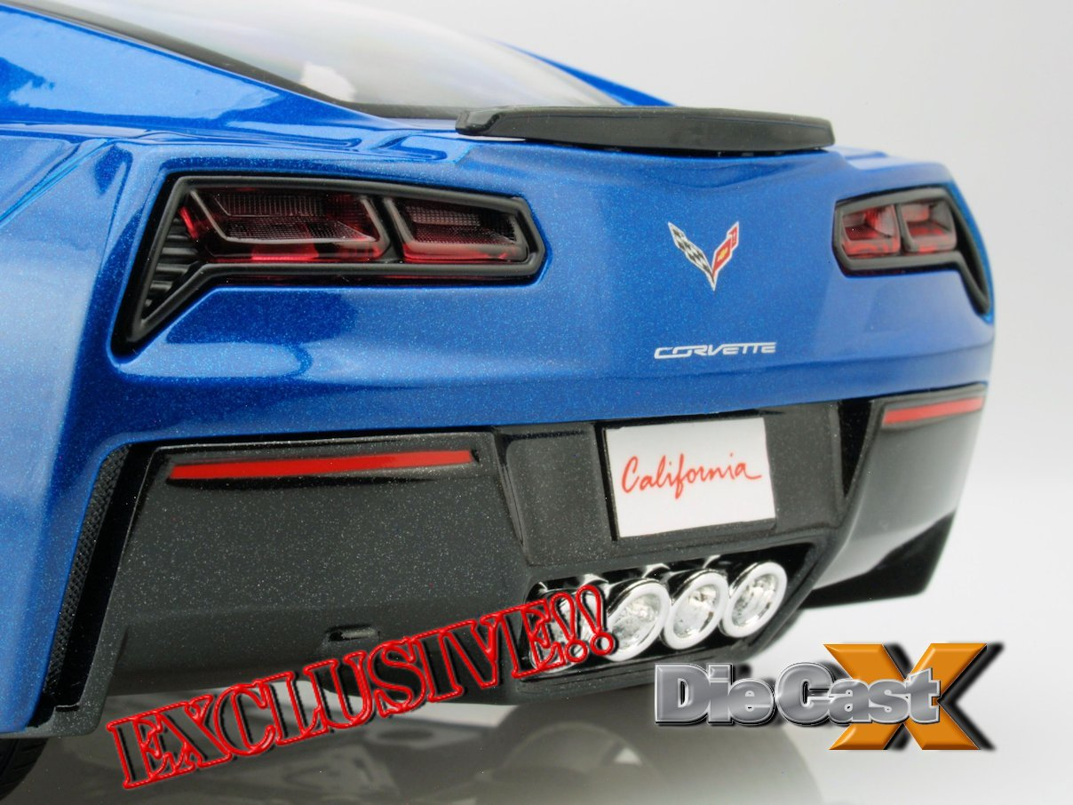 NEW VIDEO! Maisto 1:18 2014 Corvette Stingray