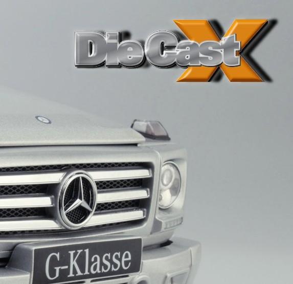 AUTOart 1:18 Mercedes G-Klasse: Klasse Act