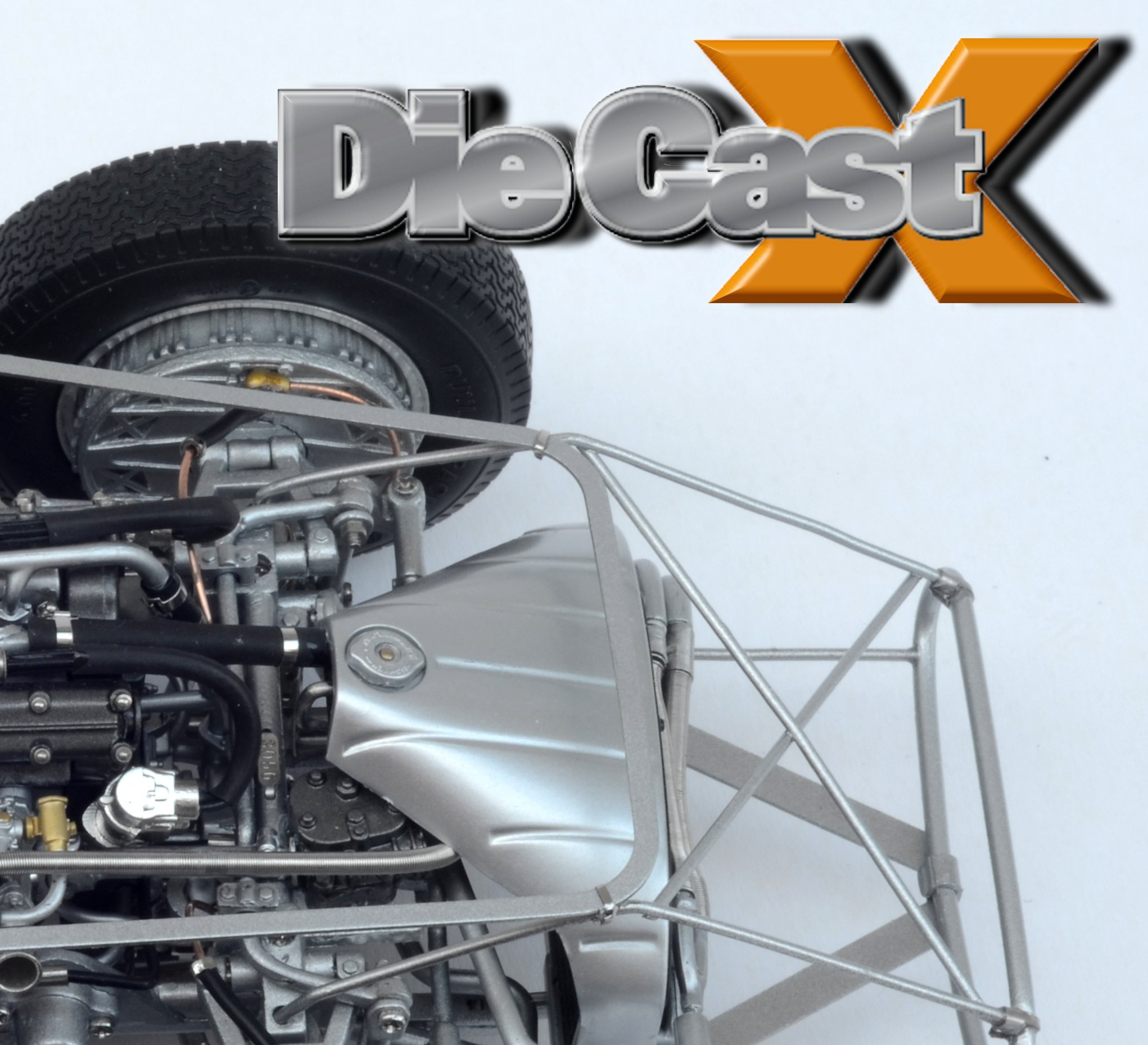 CMC 1:18 Maserati 300S Chassis: Naked Ambition
