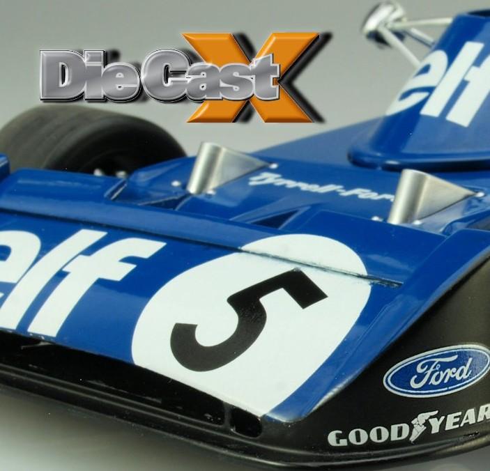 "TSM Models 1:18 Tyrrell 006 ""Belgium GP"""