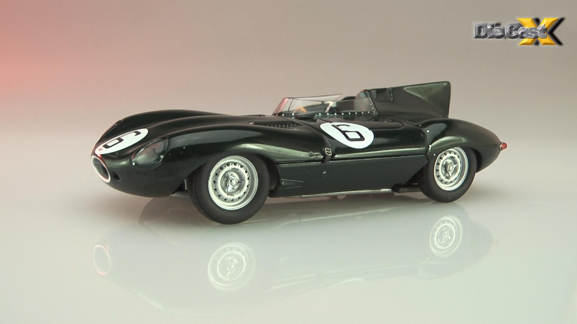 AUTOart 1:43 1955 Jaguar D-Type Le Mans: Tragic Magic