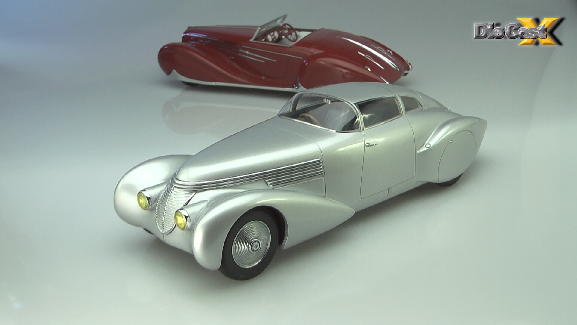 "NEW VIDEO! Minichamps 1:18 ""Mullin Collection"" Hispano-Suiza ""Xenia"" and Delahaye 165: Curves Ahead"