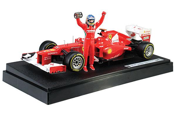 Hot Wheels Elite Alonso Malaysian GP Victory