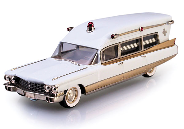 Brooklin 1960 Miller-Meteor Cadillac Ambulance