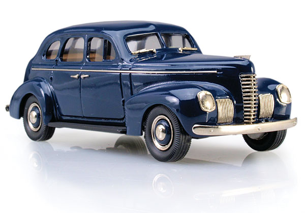 Brooklin 1939 Nash Ambassador Eight 4-Door Touring Sedan