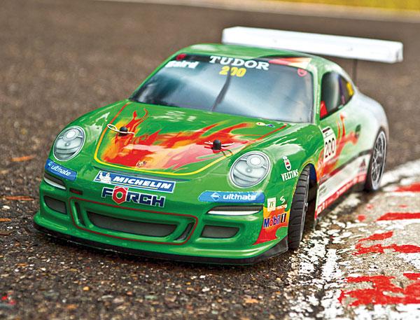 """LRP Porsche GT3 """"Green Hell"""""""
