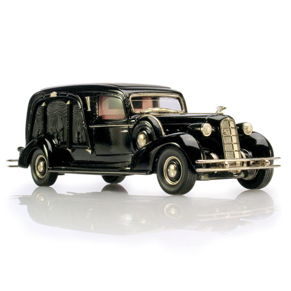 Brooklin 1934 Miller-LaSalle Hearse
