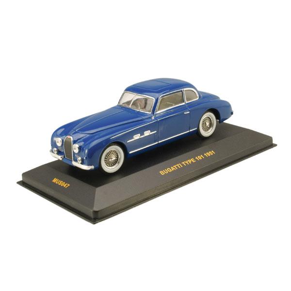 IXO 1951 Bugatti Type 101 Gangloff Coupe