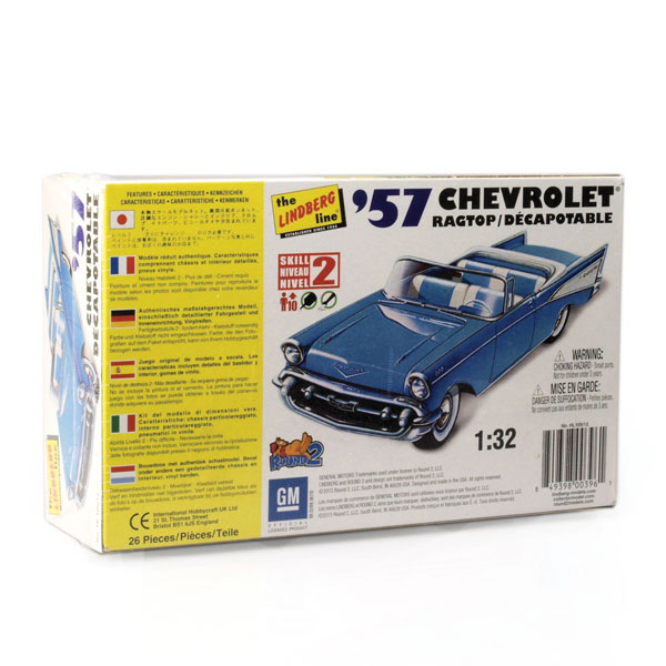 Auto World/Lindberg Line 1957 Chevy model kit