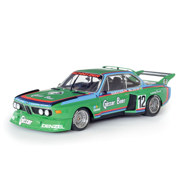 "Minichamps BMW ""Gösser Beer"" BMW 3.5 CSL"