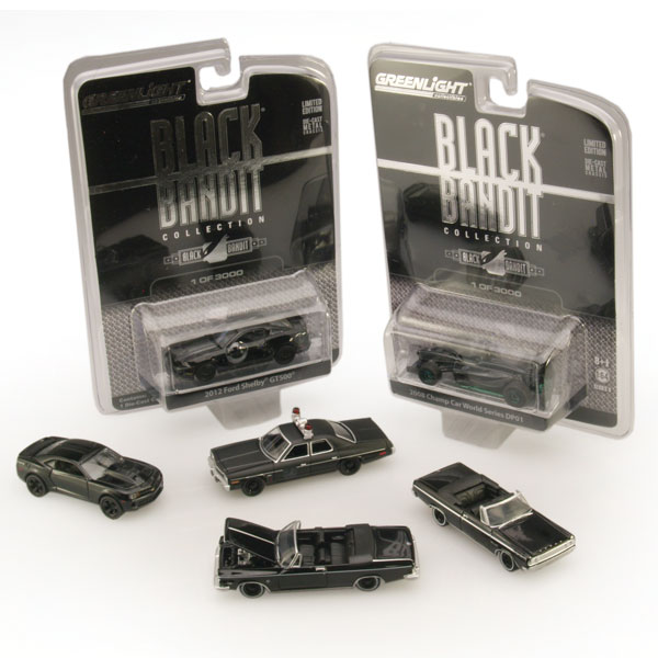 GreenLight Black Bandit Series 8