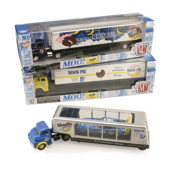 "M2 Machines ""Moon Pie"" Haulers"
