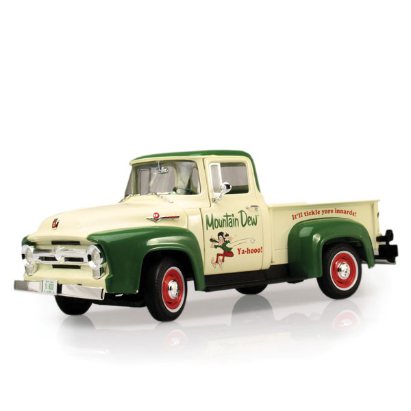 "Auto World ""Mountain Dew"" 1956 Ford F100 Pickup Truck"